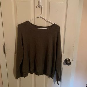 H&M Olive Green sweater